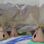 Ильяс, Глеб, 5а класс. «Макет национального ландшафта Северной Америки»