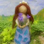 Анна, 4 кл. «Кукла», сухое валяние