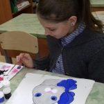 Анна. Роспись по ткани акриловыми красками