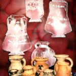 Керамика. Роспись вазы. Первобытный орнамент