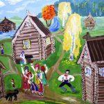 Гильфанутдинова Лиля. 4 класс. «Праздник сбора урожая»
