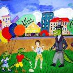 Городской конкурс детского рисунка, посвященный 125-летию со дня рождения К. Чуковского «Айболит 2007» Победитель: Мухудадаева Амина (4 класс) – 2 место