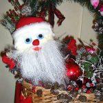 Волкова Варя. 4 класс. Дед Мороз. Мягкая игрушка