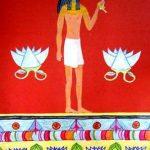 Виенсковска Оля 5 кл. Композиция «Древний Египет»