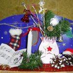 Рождественские композиции. Объемные открытки. 5 класс