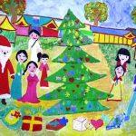Су Мин. «Новый год в Корее с русским Дедом Морозом»