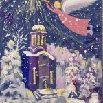 """Анастасия, 4 кл. """"Рождественская звезда"""""""