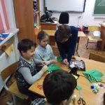 Мастер-класс в школе «Росток»
