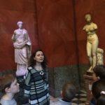 Занятие по искусству в Эрмитаже