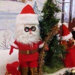 Санта Клаус (конструирование игрушки на основе конуса и цилиндра). Израилев Игорь, 2б класс