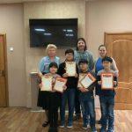 Награждение победителей и призёров турнира по интеллектуальным играм