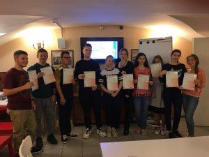 Вручение сертификатов IB MYP