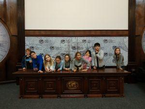 Экскурсия в Русском географическом обществе