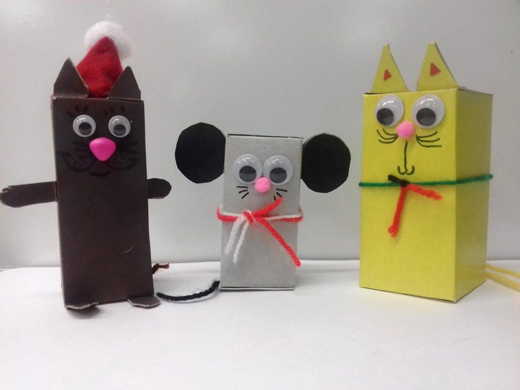 Конструирование игрушки, 3 класс