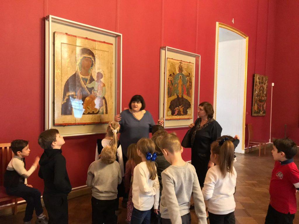Мир древнерусского искусства в Русском музее