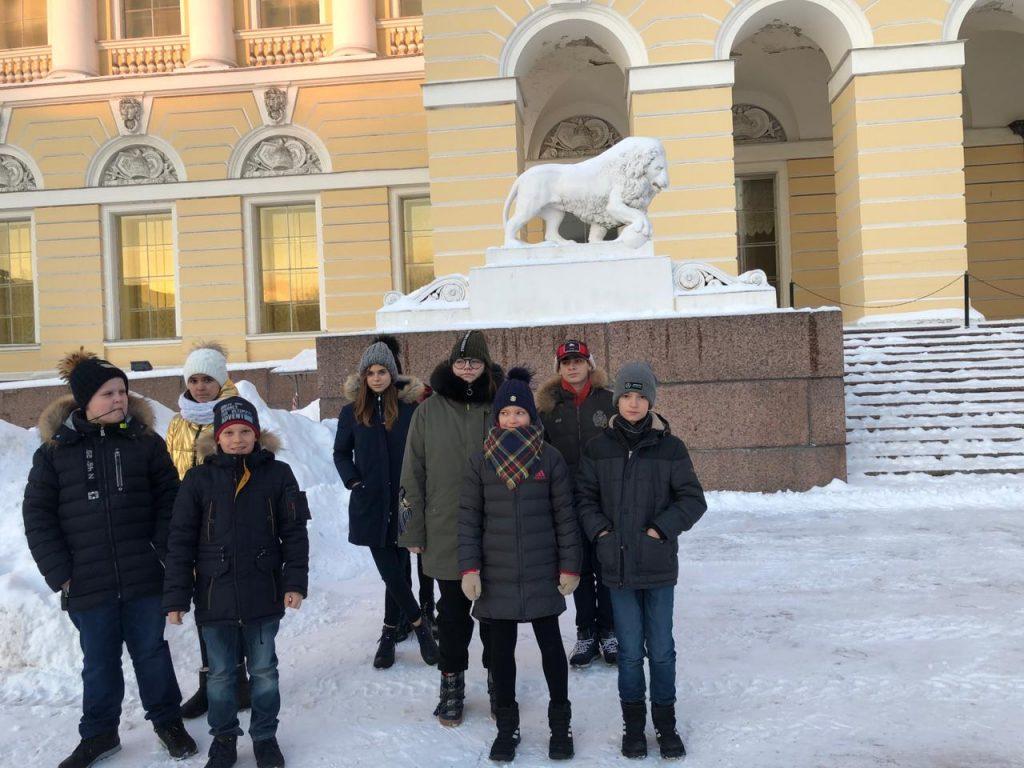 Посещения Русского музея
