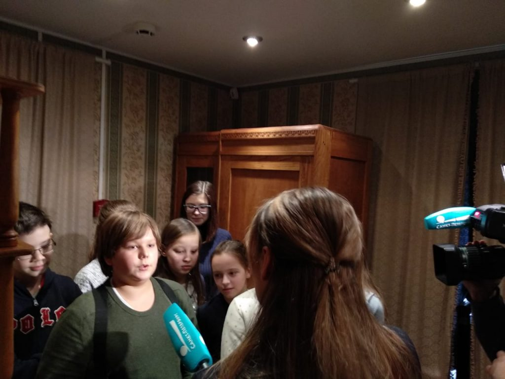 Экскурсия в Блокадную комнату семьи Агте