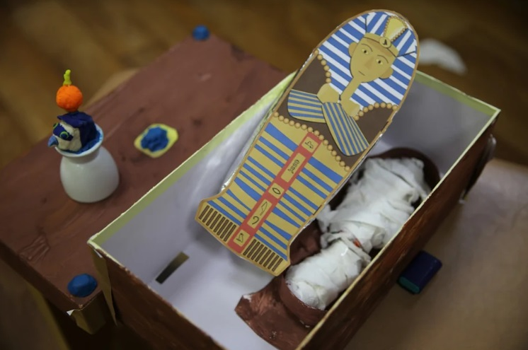 Исследование по древнему Египту