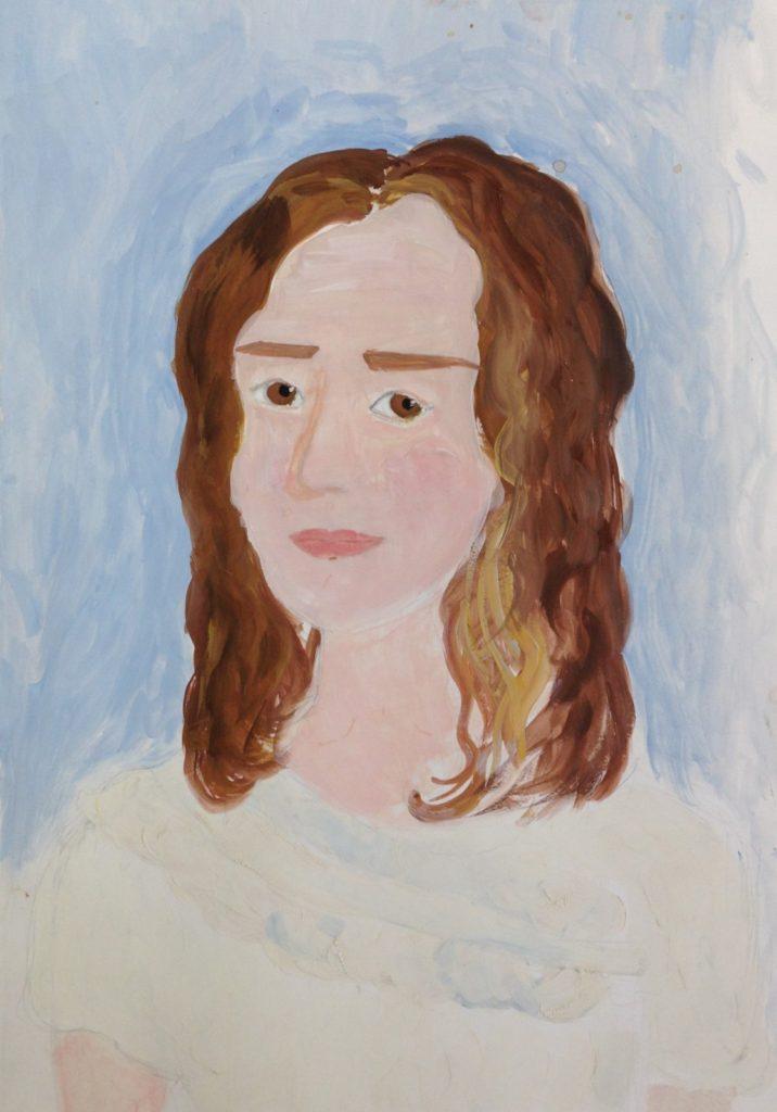 Академическая живопись.Портрет!
