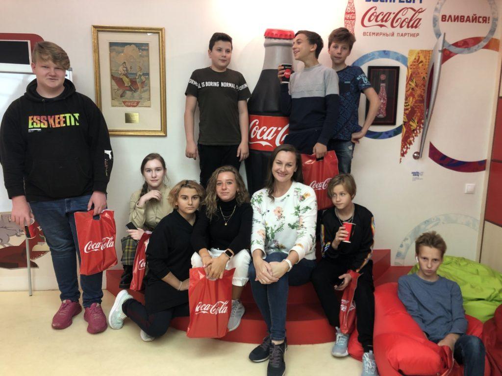 Экскурсия Coca-Cola
