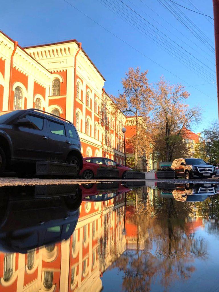Художественная фотография. Городской пейзаж